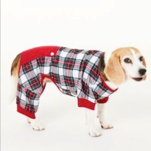 Family Christmas Holiday Pet Stewart Plaid Pajama